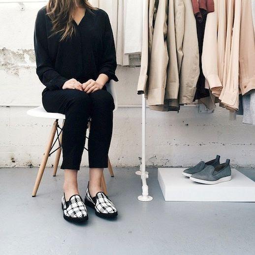 3 Le Fashion Blog The Everlane Street Shoe Woven Black White Slip On Sneaker Pants Via Instagram photo 3-Le-Fashion-Blog-The-Everlane-Street-Shoe-Woven-Black-White-Slip-On-Sneaker-Pants-Via-Instagram.jpg