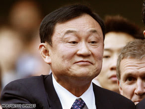 Thaksin Shinawatra lives in self-imposed exile in London.
