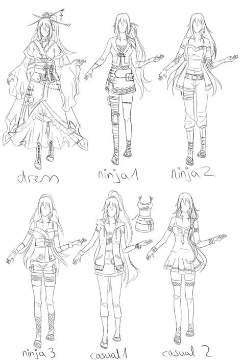drawing reference clothing images  pinterest
