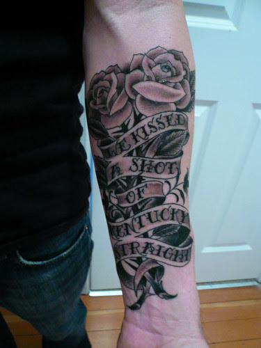 Saosin Tattoo Rest In Peace Tattoos
