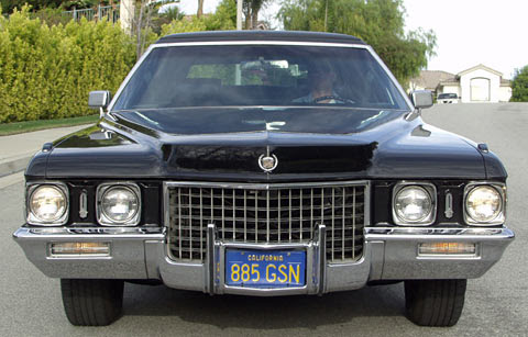 A factory 71 Cadillac Fleetwood Series 75 Limousine!