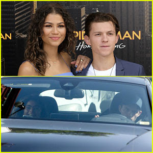 Zendaya & Tom Holland Spotted Out Together Amid Dating Rumors