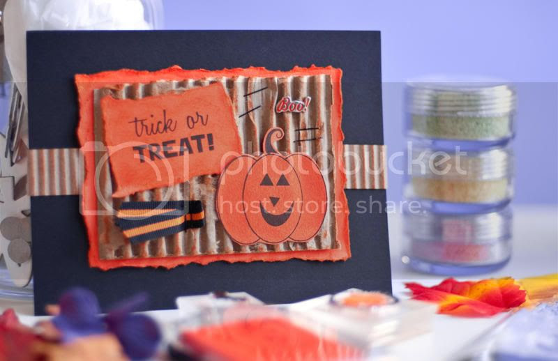 October Stamps Of Life/Trick Or Treat 2