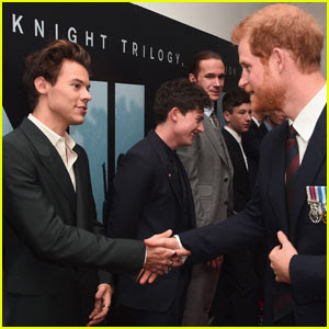 Prince Harry Chats Up Harry Styles at the 'Dunkirk' Premiere