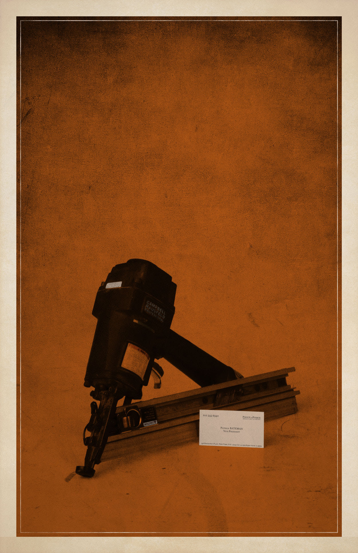 American Psycho Minimalist Poster