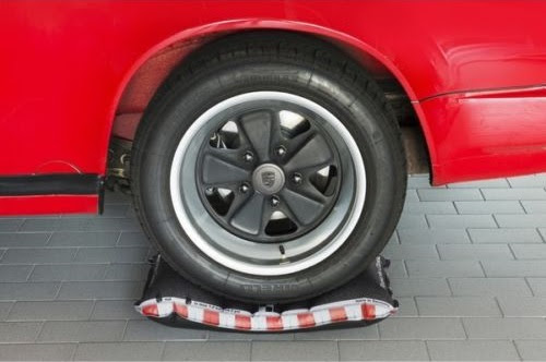 Porsche Classics Tire Pillows Make Your Cars Winter Storage More Comfortable The Drive