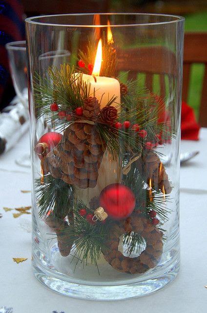 Navidad decoración de la tabla