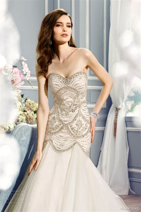 Full Bodice Fit and Flare Wedding Dress Wedding Dresses