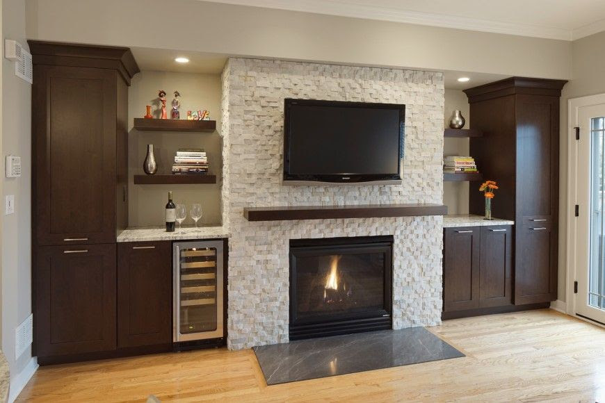 Diverse Family Room Designs From The Drury Design Collection Wood Fireplace Surrounds Home