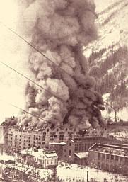 The destruction of the Rjukan plant