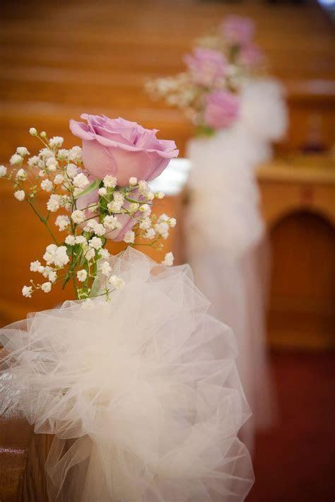pink rose, babys breath aisle decoration   Wedding