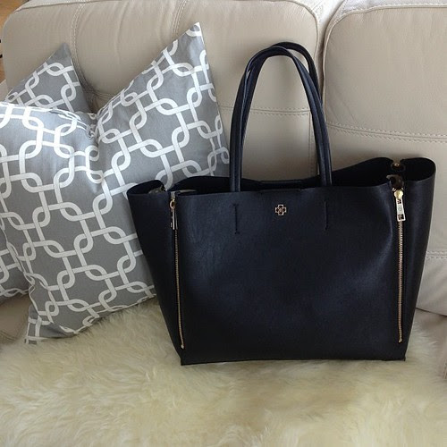 Ann Taylor Gallery Tote in black
