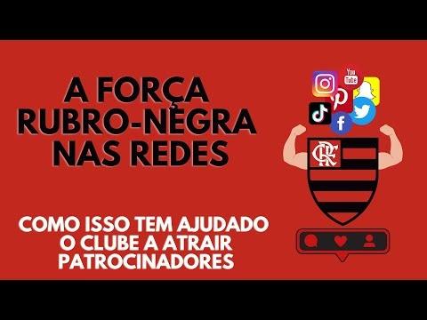 Sucesso do Flamengo nas redes sociais ajuda acerto com patrocinadores