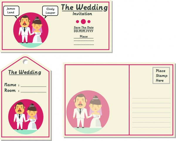550 Koleksi Ide Download Vector Desain Undangan Pernikahan Gratis Terbaik Download Gratis