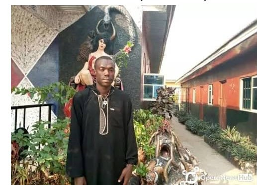 Abia Church Of Satan Founder Arrested. Shrine Destroyed (SEE PHOTOS)