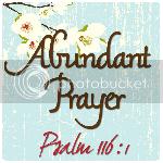 Abundant Prayer Blog
