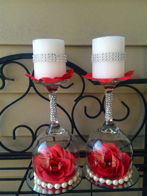 ideas  candle holders wedding  pinterest