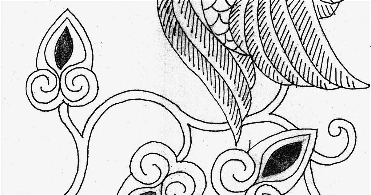 Motif Bunga Gambar Batik Yg Mudah - Batik Indonesia