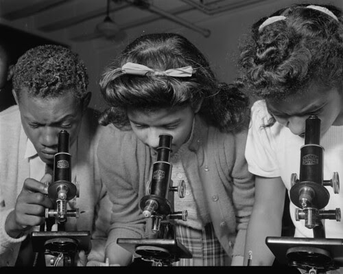 Rare photos from the New Deal era have been published. These are students from Bethune-Cookman College in February 1943. by Pan-African News Wire File Photos