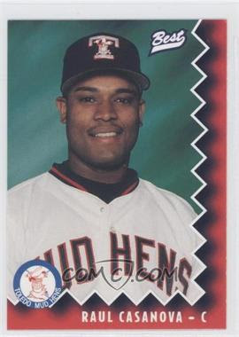 1997 Toledo Mud Hens Best #8 - Raul Casanova - Courtesy of COMC.com