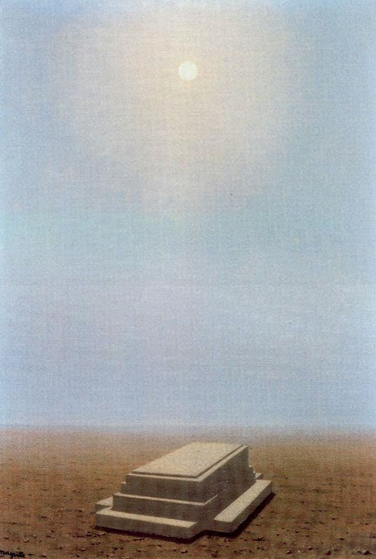 The beyond, 1938 Rene Magritte