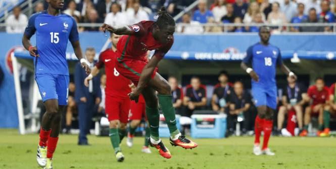 Euro - Finale - Eder donne l'avantage au Portugal en finale de l'Euro VIDEO