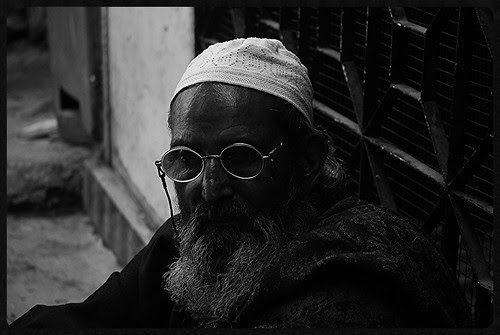 The Profile Of A Muslim Beggar by firoze shakir photographerno1