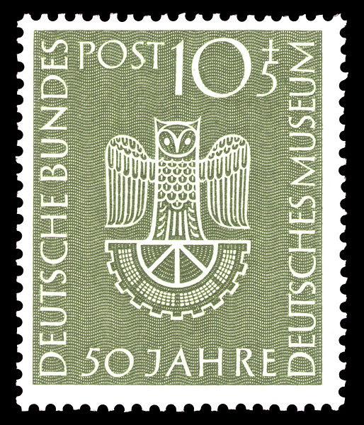 Datei:DBP 1953 163 Deutsches Museum München.jpg