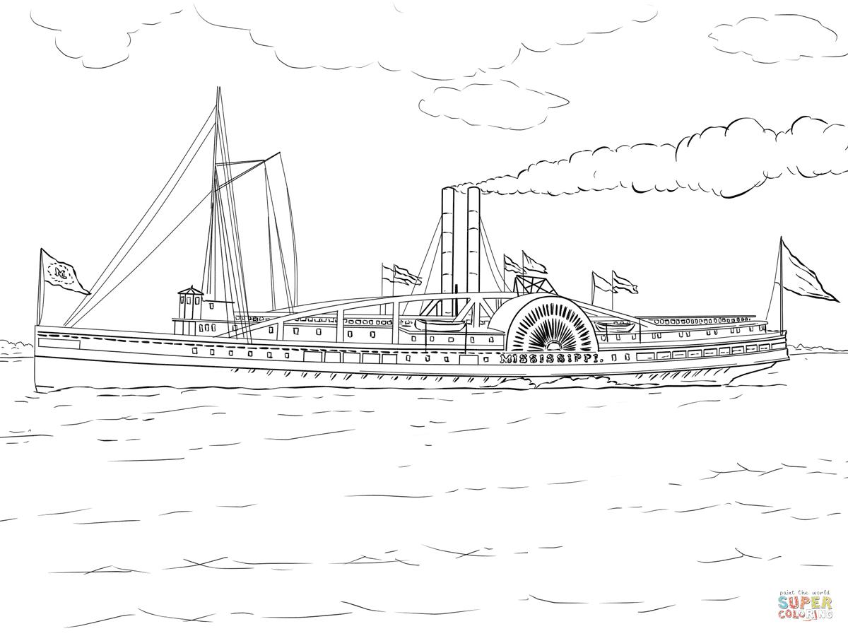 Mississippi Dampfschiff