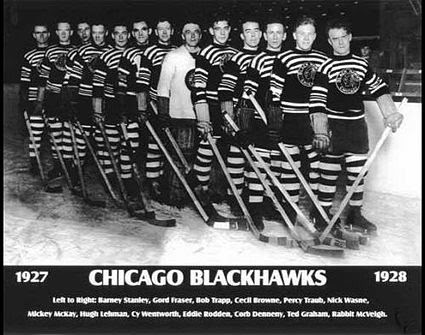 1927-28 Chicago Black Hawks team