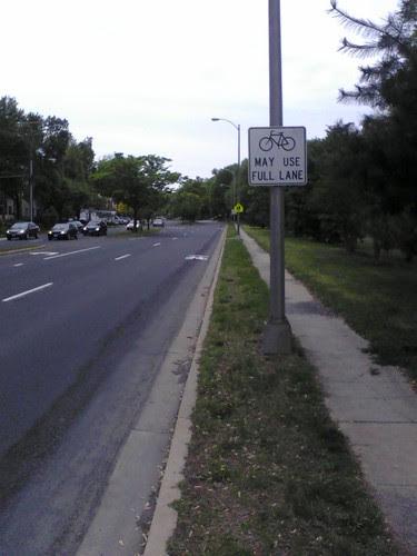 Full Lane for Bikes