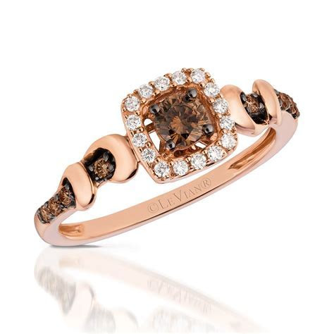 Chocolate by Petite Le Vian Ring featuring Chocolate