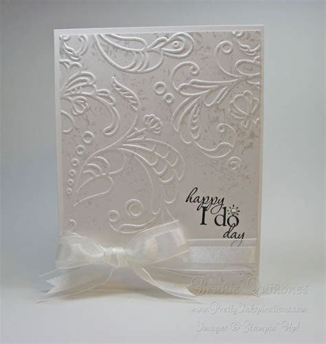 Stampin' Up!   Stampin? Up! Happy I Do Day Card Stampin