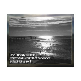 Sunday Morning Christian Souls Stretched Canvas Prints