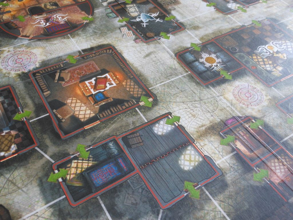 Cadwallon: City of Thieves board