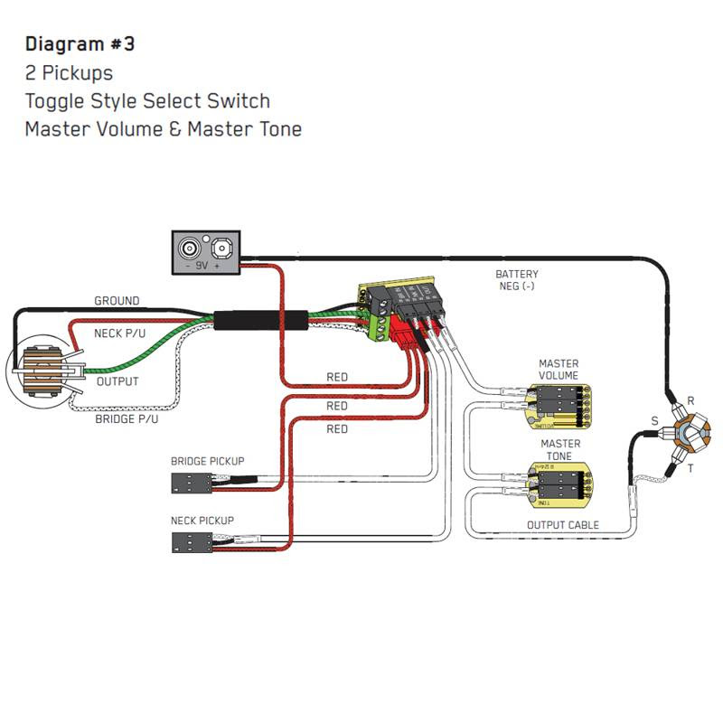 Emg Wiring Diagram 81 85 1 Volume Tone