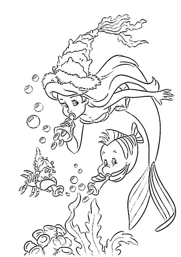 Malvorlagen Arielle Die Meerjungfrau Kostenlos