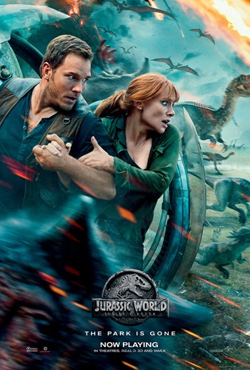 Jurassic World: Fallen Kingdom 2018 Dual Audio ORG Hindi BluRay 480p 400MB ESubs
