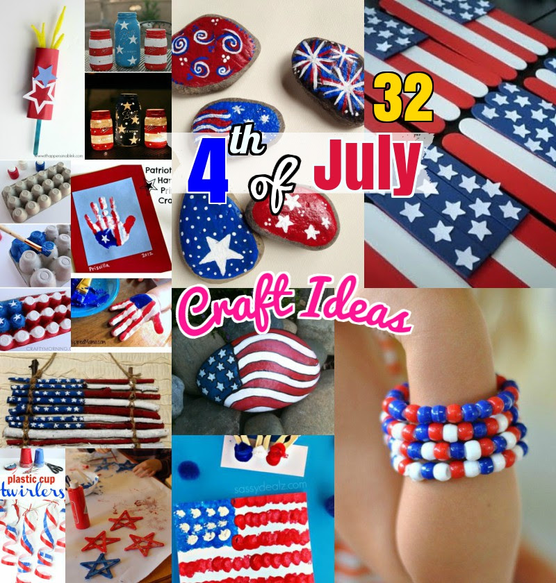Diy Craft Ideas 32 Easy Attractive 4th Of July Craft Ideas For Kids