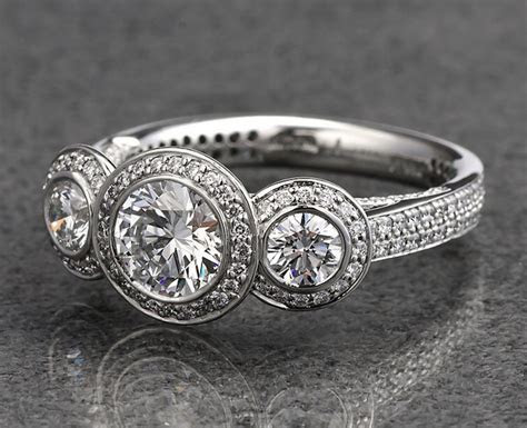 What does a three stone engagement ring symbolize?   Ritani