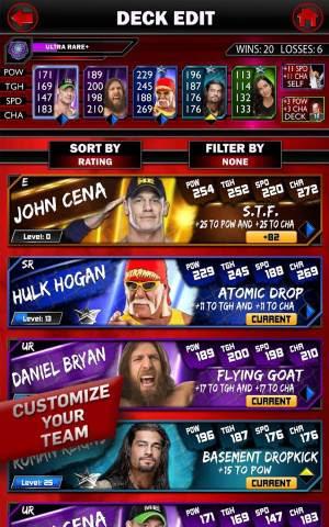 download WWE SuperCard android تحميل لعبة المصارعة الحره للمحترفين 2015 WWE SuperCard