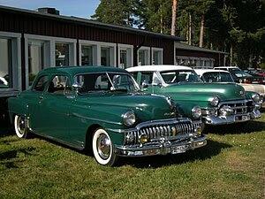 English: Classic Car Week in Rättvik