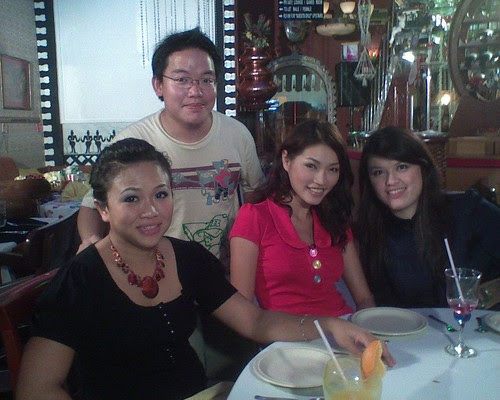 Me, with Amber Chia, her business partner Shan and hostess Fay