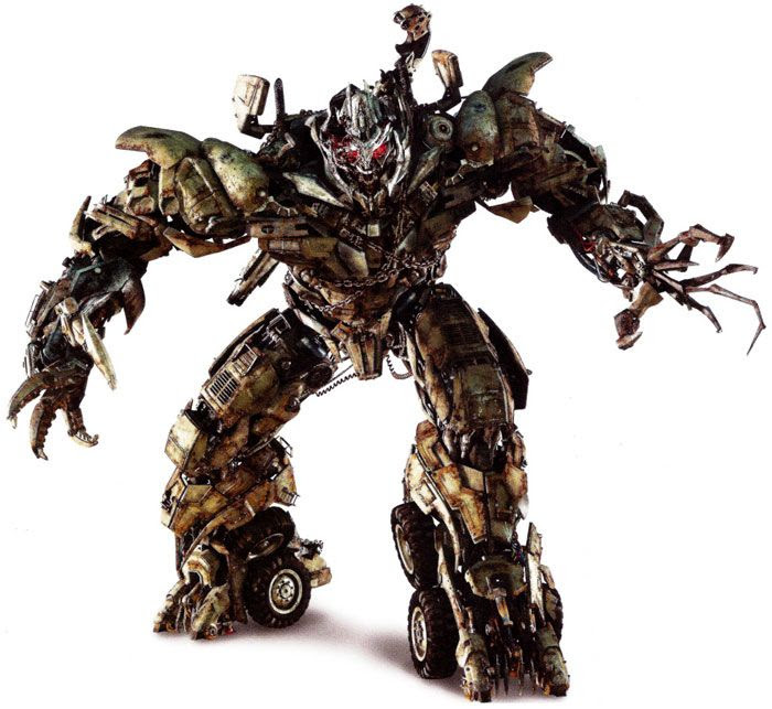 Concept artwork of Megatron in TRANSFORMERS: DARK OF THE MOON.
