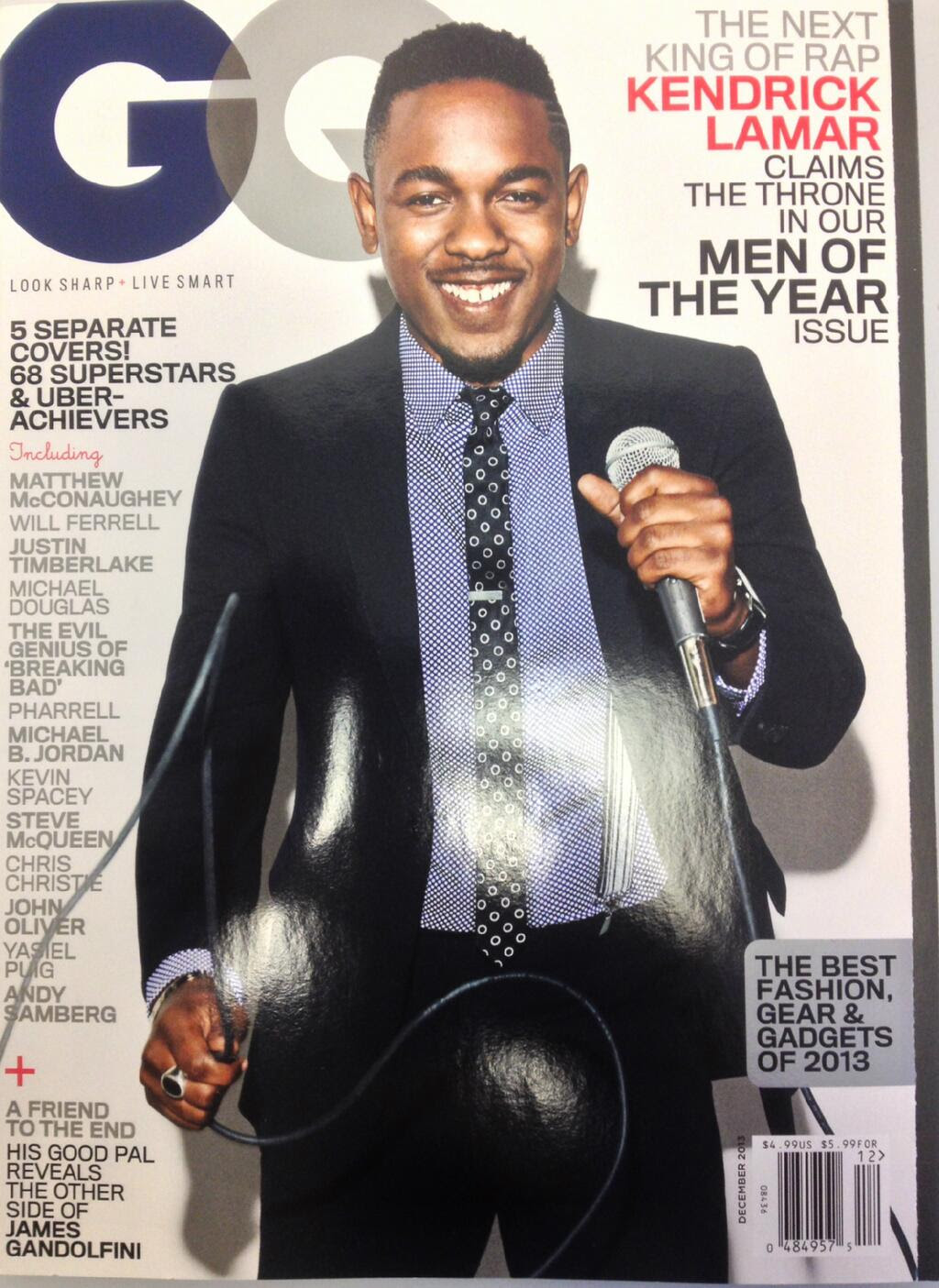> Kendrick Lamar Covers GQ (Men Of The Year Issue) - Photo posted in The Hip-Hop Spot | Sign in and leave a comment below!