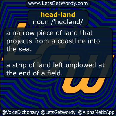 headland 08/06/2018 GFX Definition