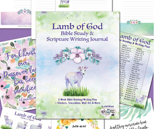 Download Lent / Easter Bible Reading Plan and Scripture Writing ...