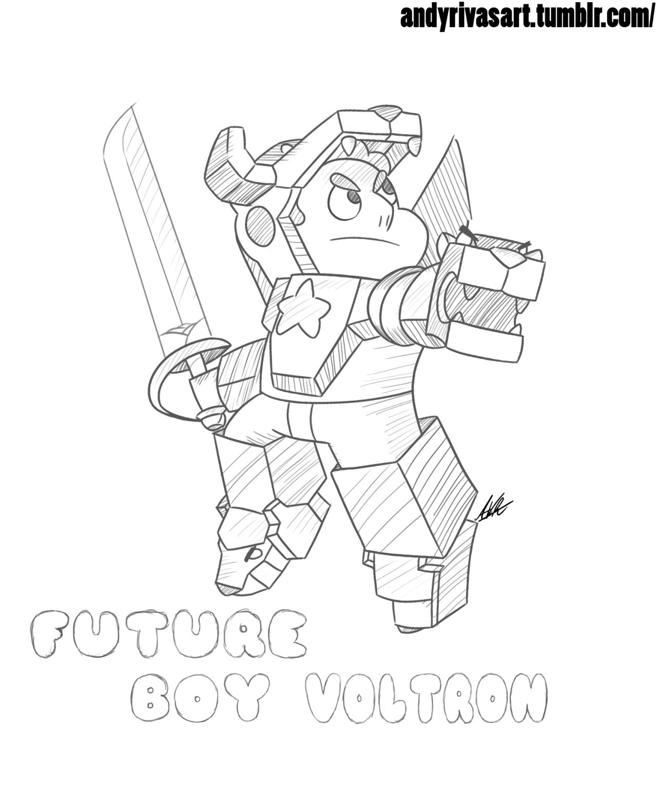 lol ok one more, Future Boy Voltron Zoltron! XD