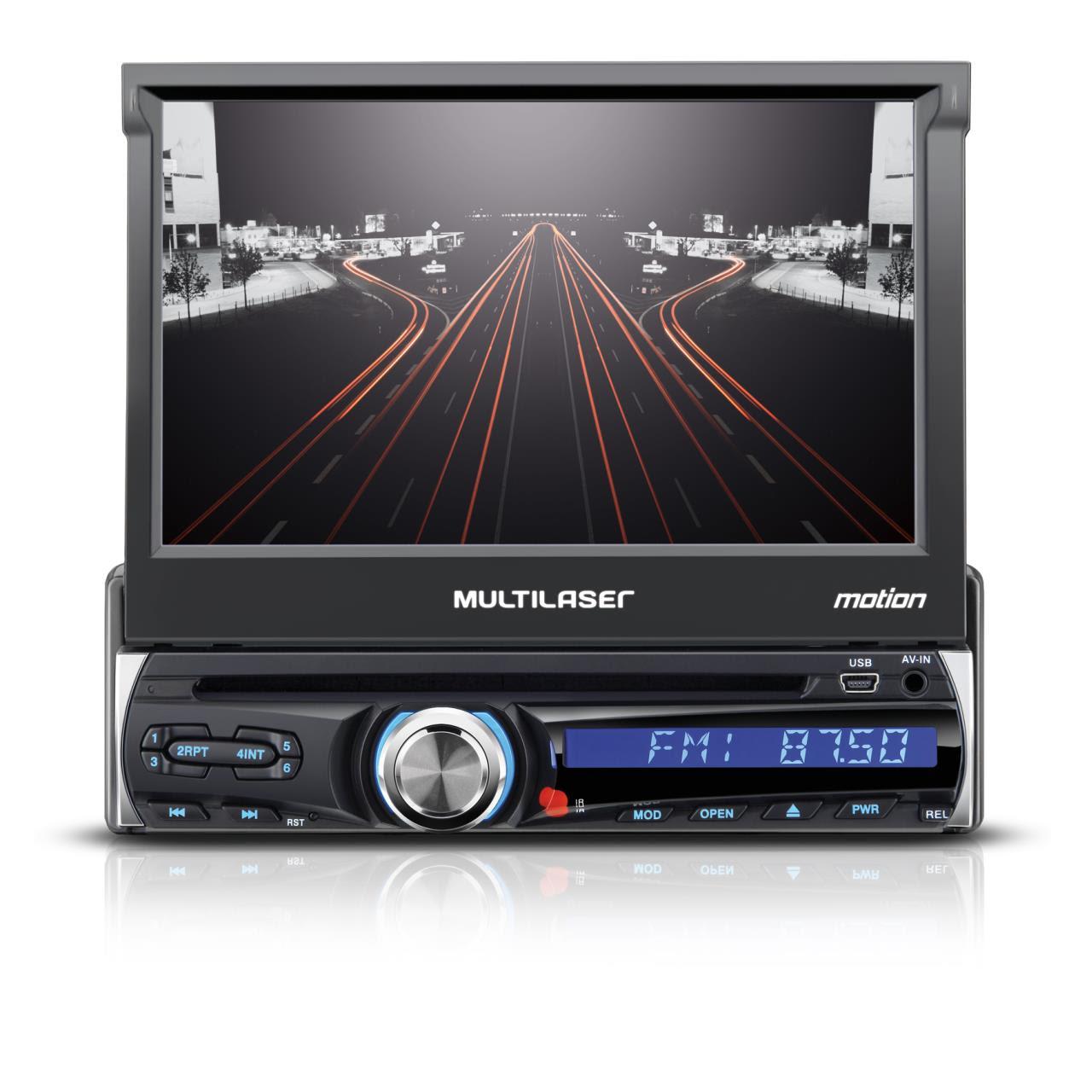 """GPS 7"""" com Câmera de Ré, TV Digital e Alerta de Radares"""