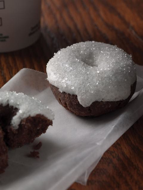 sparkle doughnuts from starbucks
